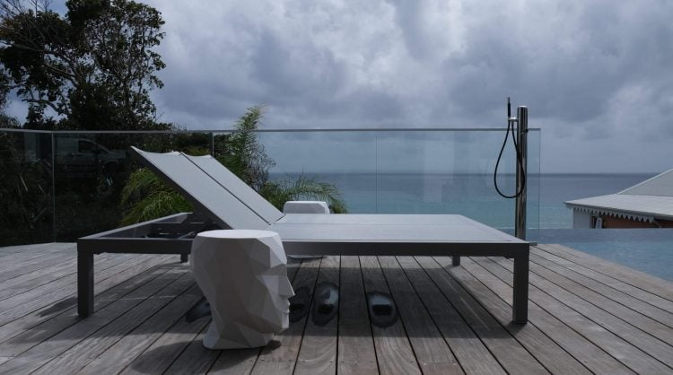 Transat double claire ambiance mobilier claire ambiance guadeloupe